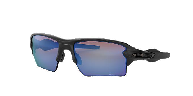 bfbdc923710d OO9188 59 FLAK 2.0 XL: Shop Oakley Black Rectangle Sunglasses at ...