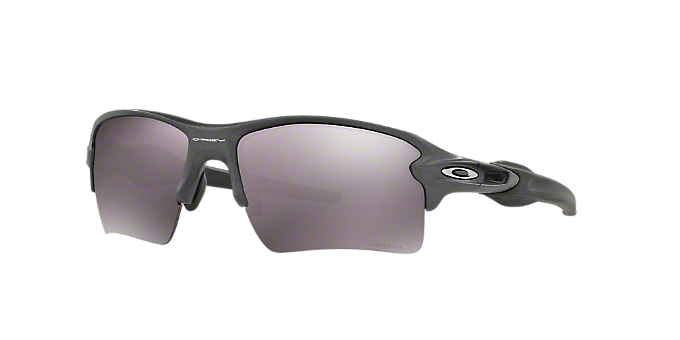 013acd629075b OO9188 59 FLAK 2.0 XL  Shop Oakley Silver Gunmetal Grey Rectangle  Sunglasses at LensCrafters