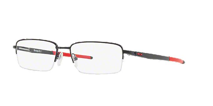 4e731b3049 OX5125 GAUGE 5.1  Shop Oakley Black Rectangle Eyeglasses at LensCrafters