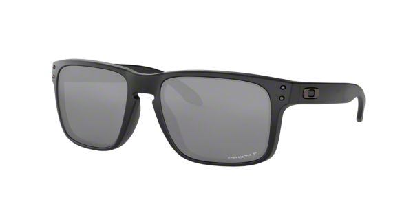 9cd2c138f OO9102 HOLBROOK: Shop Oakley Black Square Sunglasses at LensCrafters