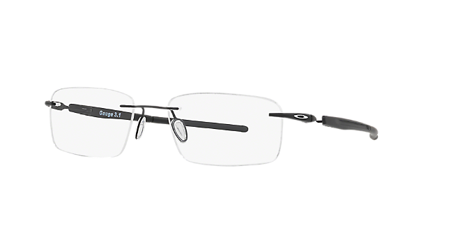 81af99ab00 OX5126 GAUGE 3.1  Shop Oakley Black Rectangle Eyeglasses at LensCrafters
