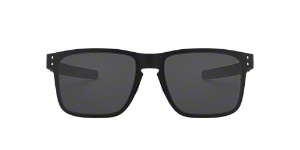 4d931aca4b3 OO4123 55 Holbrook Metal  Shop Oakley Black Square Sunglasses at ...
