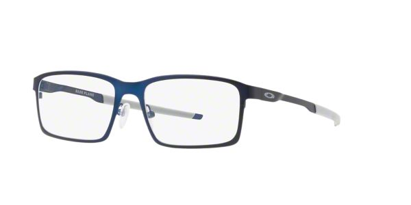 7d7faca74a OX3232 Base Plane  Shop Oakley Blue Rectangle Eyeglasses at LensCrafters