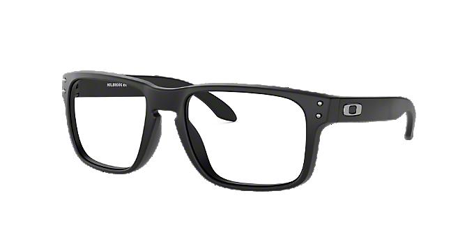 abb8601145 OX8156 HOLBROOK RX: Shop Oakley Black Eyeglasses at LensCrafters