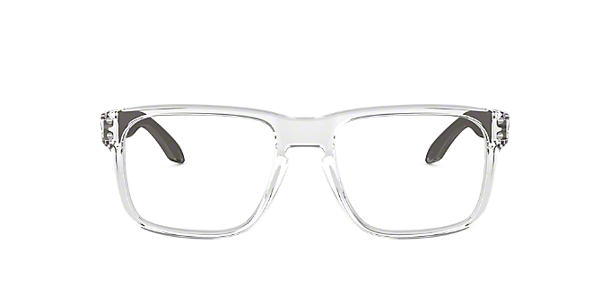 bd12dbb696 OX8156 HOLBROOK RX  Shop Oakley Clear White Eyeglasses at LensCrafters