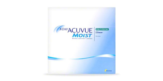 1-DAY ACUVUE® MOIST MULTIFOCAL, 90 pack main image
