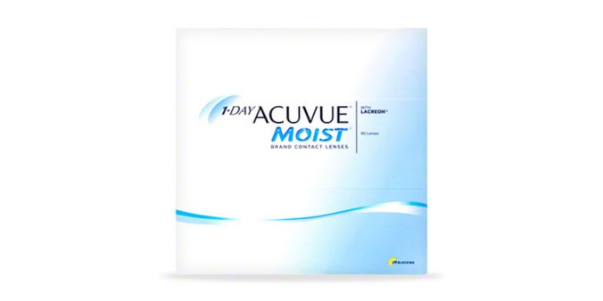 1-DAY ACUVUE® MOIST, 90 pack main image