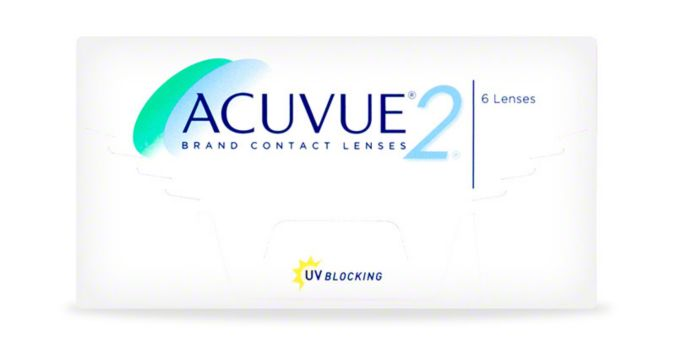 ACUVUE® 2 Brand Contact Lenses, 2-Week, 6-Pack main image