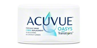 ACUVUE OASYS® with Transitions™ - 6 Pack $54.99