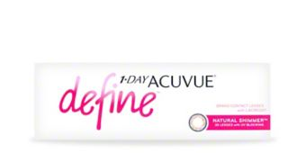 1-Day Acuvue Define 30pk $45.00