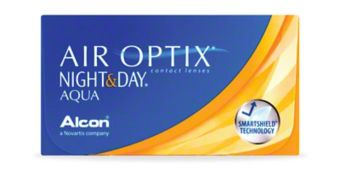 AIR OPTIX® NIGHT & DAY® AQUA - 6 Pack $85.99