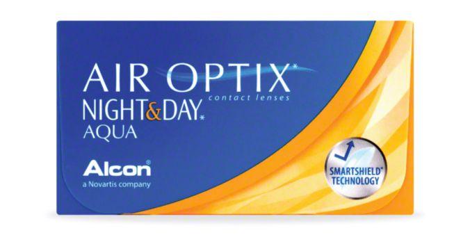 AIR OPTIX® NIGHT & DAY® AQUA - 6 Pack main image
