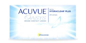 ACUVUE OASYS® with HYDRACLEAR® PLUS Technology, 24 pack $159.99