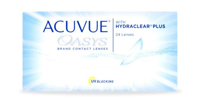 ACUVUE OASYS® with HYDRACLEAR® PLUS Technology, 24 pack main image