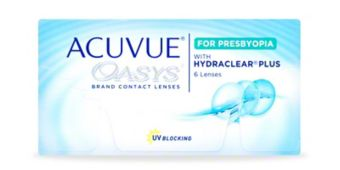 ACUVUE OASYS® Brand Contact Lenses 2-Week for PRESBYOPIA, 6-Pack $52.99