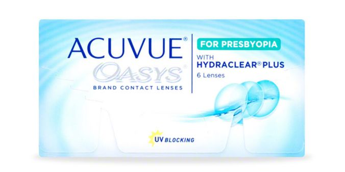 ACUVUE OASYS® Brand Contact Lenses 2-Week for PRESBYOPIA, 6-Pack main image