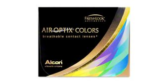 AIR OPTIX COLORS 2 pk $40.00