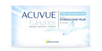 ACUVUE OASYS® for ASTIGMATISM, 6 pack $54.99