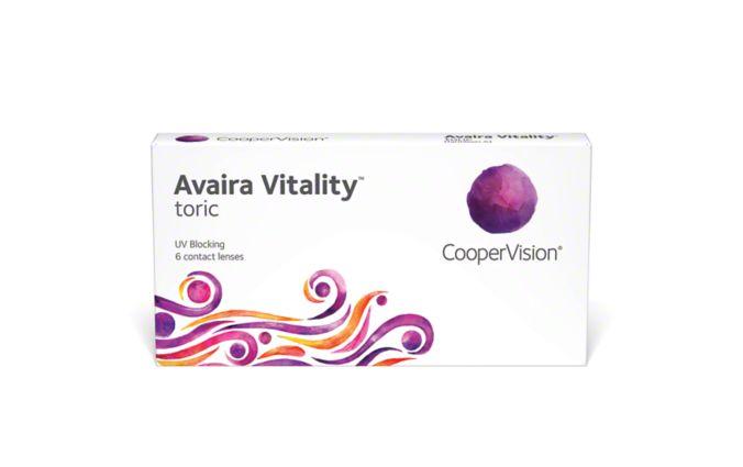 Avaira Vitality Toric - 6 Pack main image