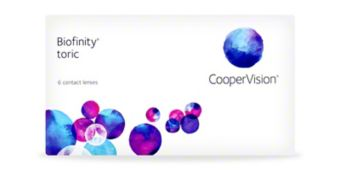 Biofinity Toric - 6 Pack $72.99
