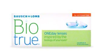 BIOTRUE ONEDAY FOR ASTIGMATISM - 30 PACK $38.99