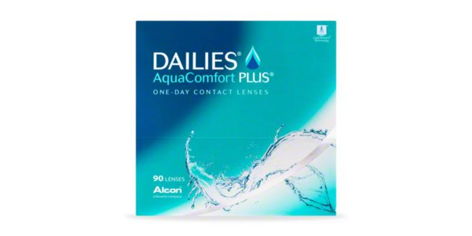 DAILIES® AquaComfort Plus® -  90 Pack main image