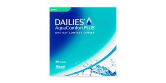 DAILIES® AQUACOMFORT PLUS® TORIC - 90 PACK $87.99