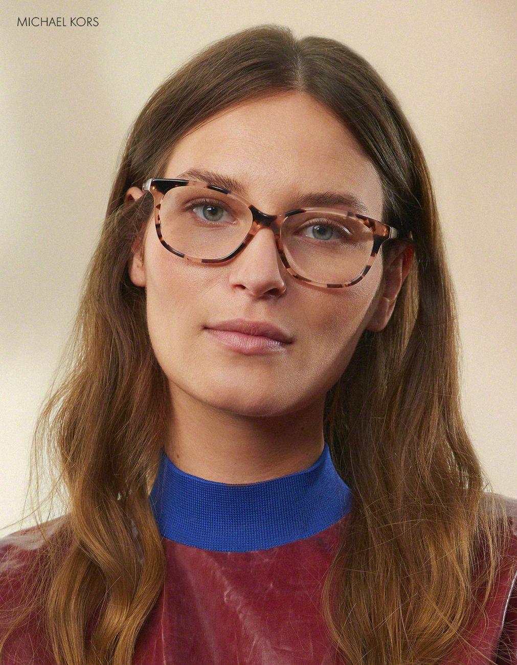 Women wearing Vogue glasses