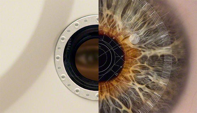 Imagen de examen de la vista
