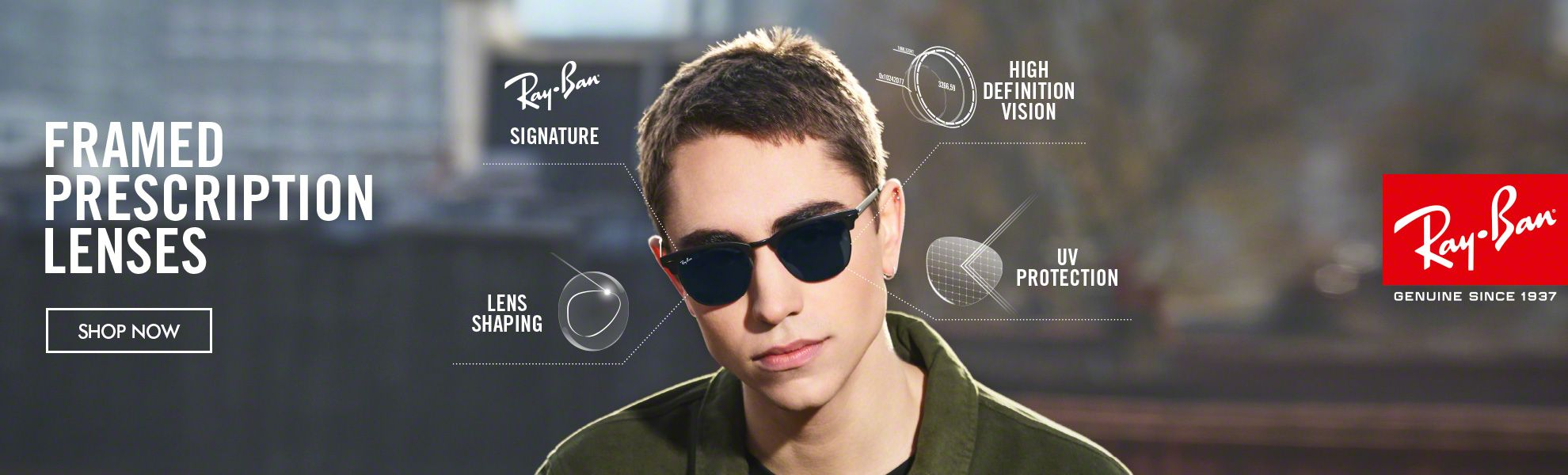 Shop now Ray-Ban colletion.
