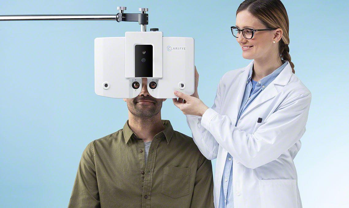 Sexta imagen de examen de la vista