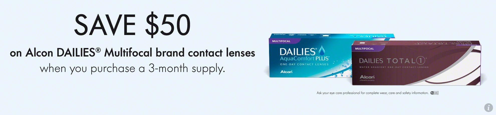 Alcon Dailies Multifocal