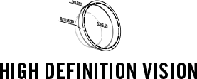 High definition vision logo