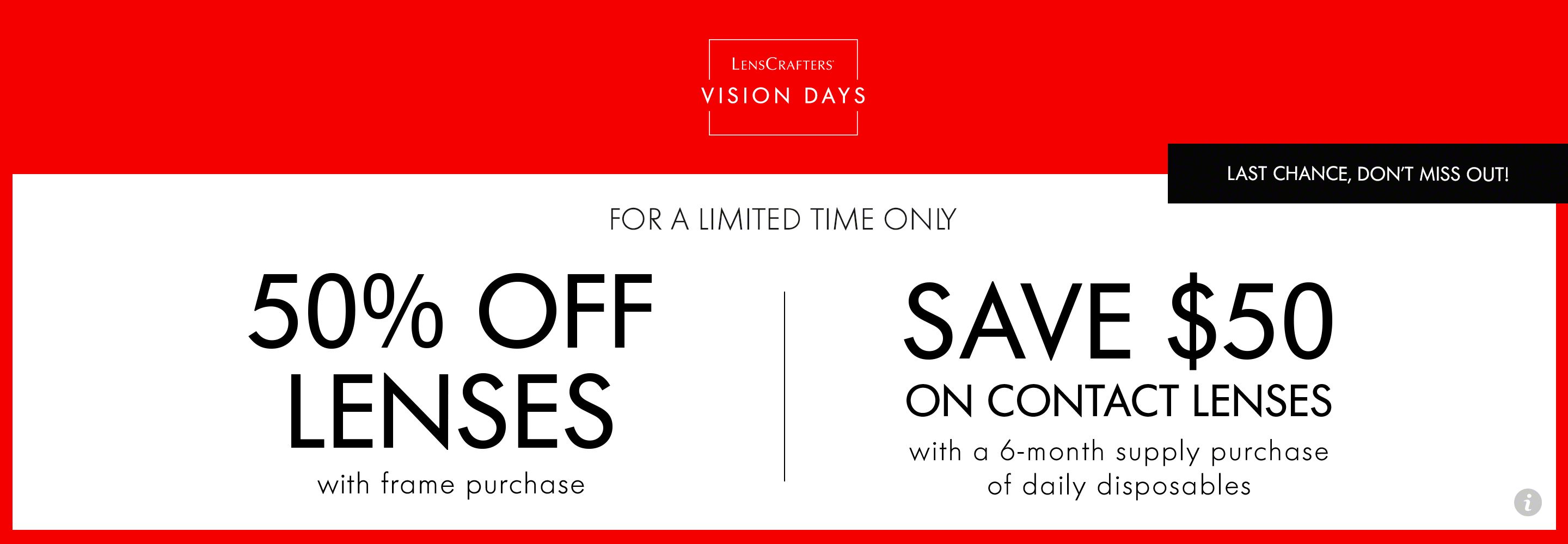 Vision Days promotions