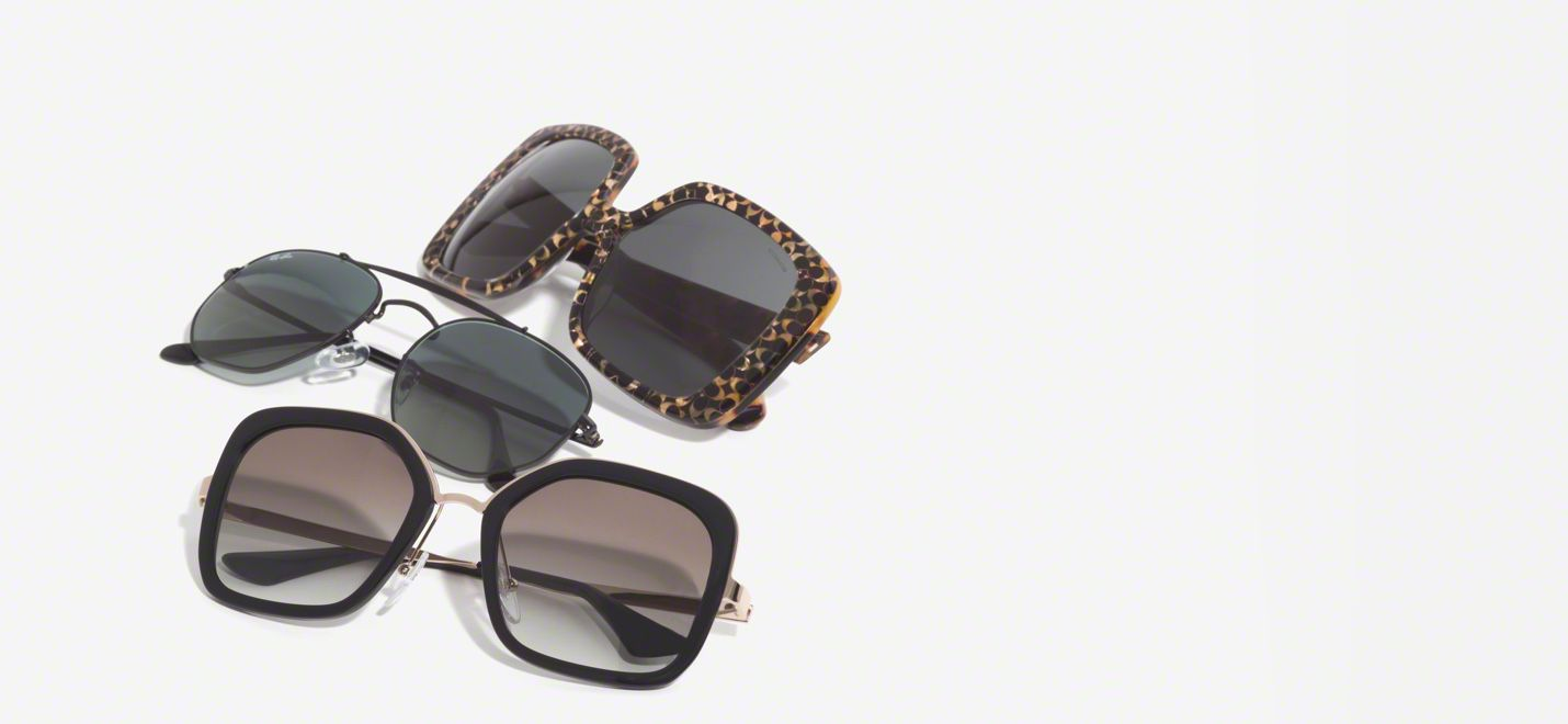 sunglasses banner