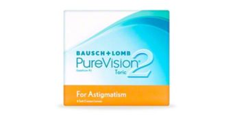 PUREVISION 2 FOR ASTIGMATISM 6 $60.00