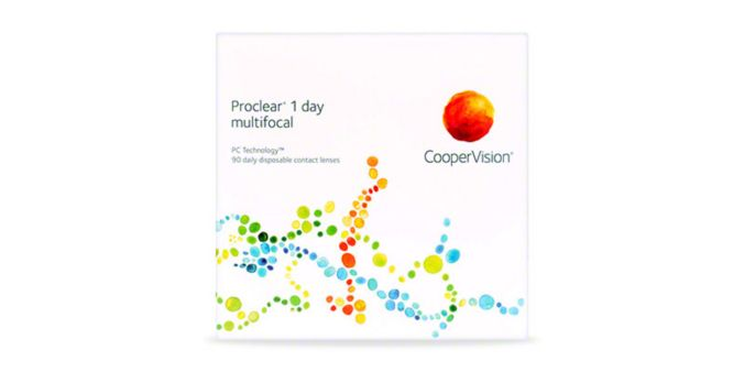 Proclear 1 Day Multifocal 90 Pack main image