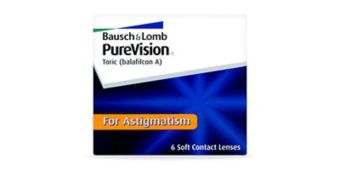 PUREVISION TORIC 6PK $72.00