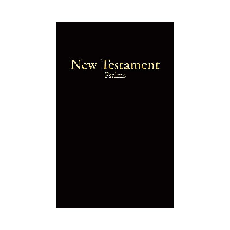 KJV Economy New Testament with Psalms, Black Imitation Leather