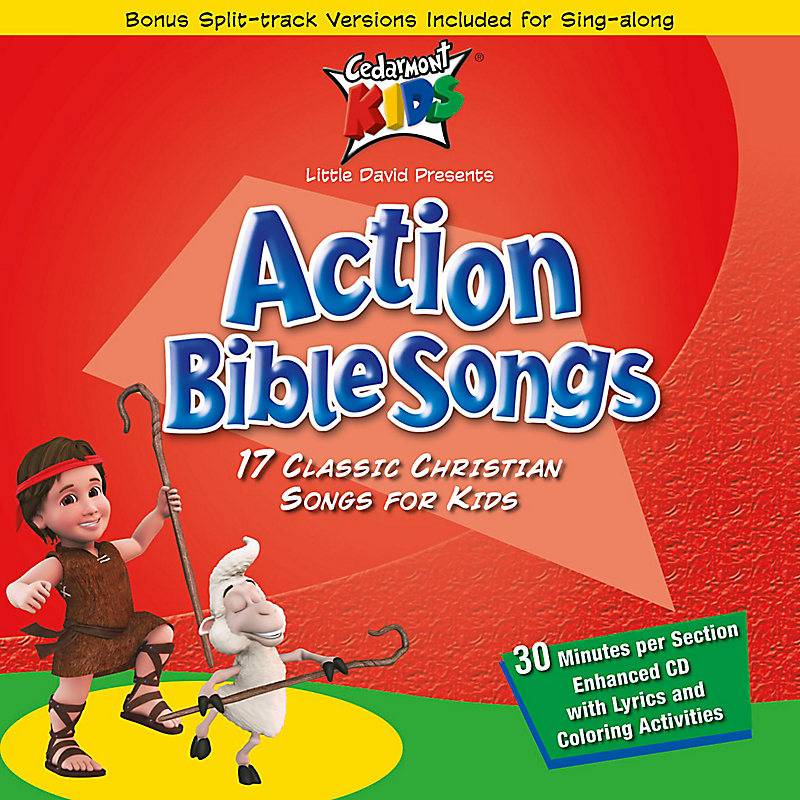 Cedarmont Kids: Action Bible Songs CDs