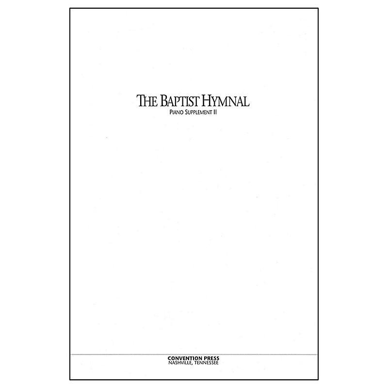 Baptist Hymnal (1991) - Piano Supplement II - LifeWay