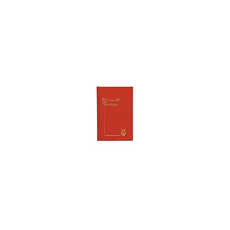 Himnario Bautista, Edicion Musica, Tapa Dura, Rojo