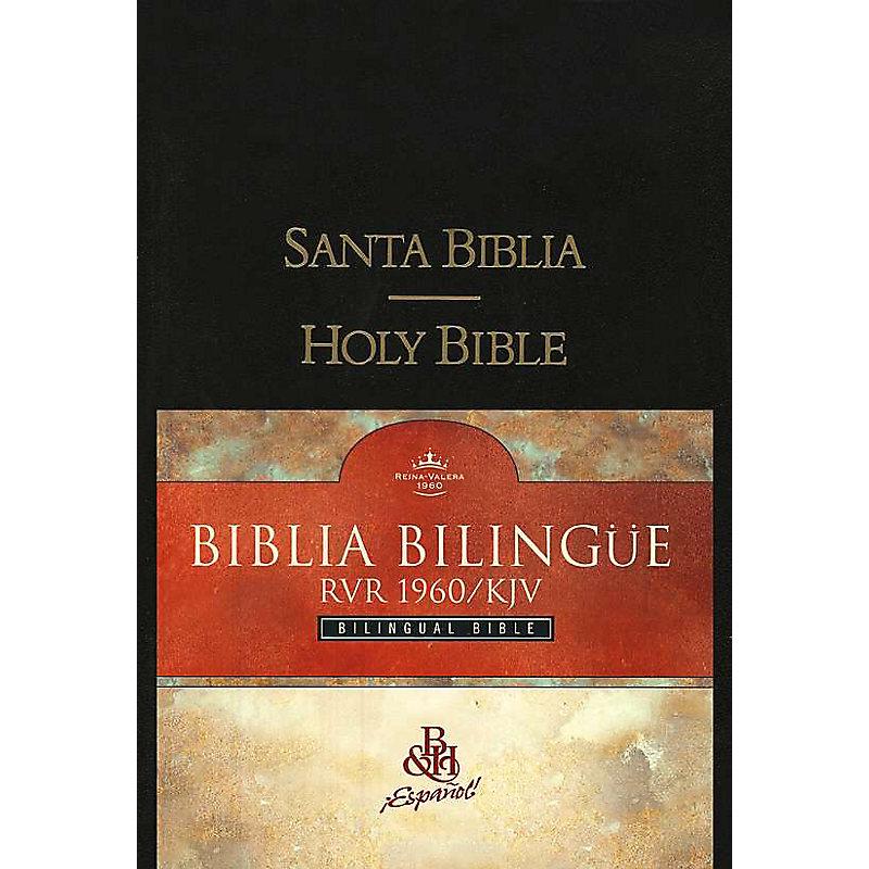 RVR 1960/KJV Biblia Bilingüe, negro tapa dura
