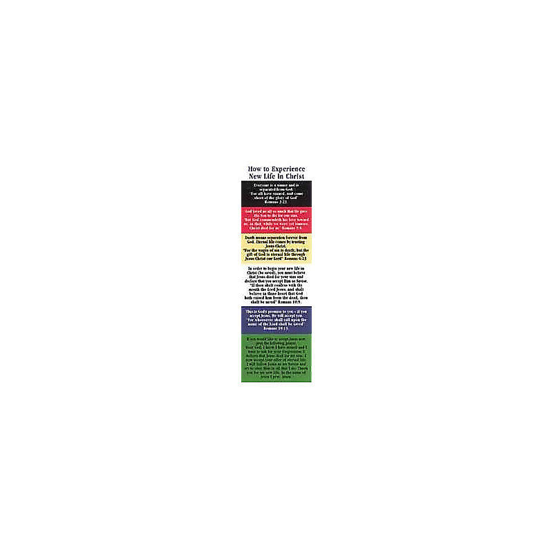 Plan of Salvation - Bookmark (Pkg 25) General Worship