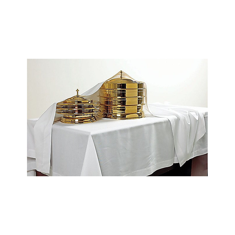 Communion element cover - White