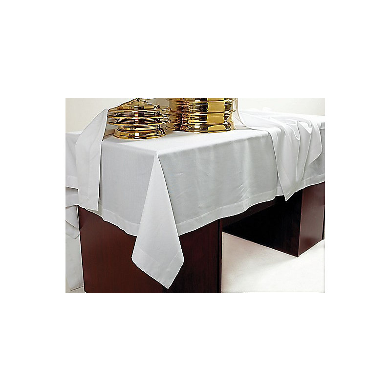 Communion table cover - White