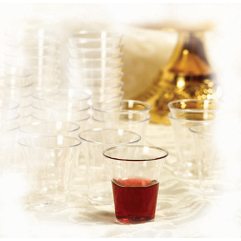 Communion Cups Plastic - 1,000 count