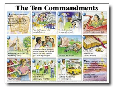 10 commandments of christian dating