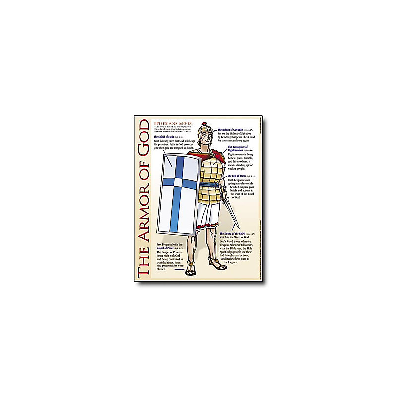 Wall Chart: The Armor of God - Laminated