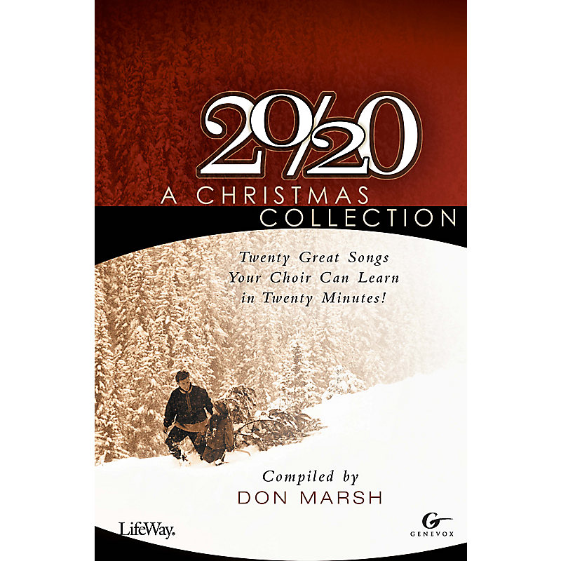 20/20: A Christmas Collection - SATB Choral Book (Min. 10)